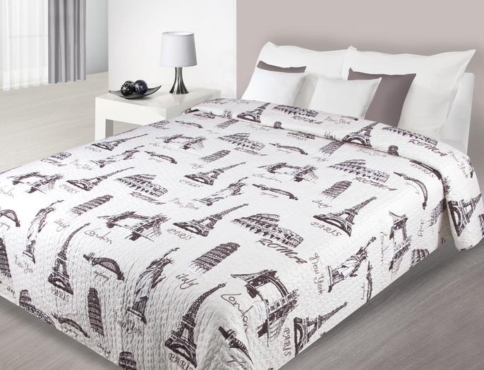 luxusní přehoz přehozy na postel