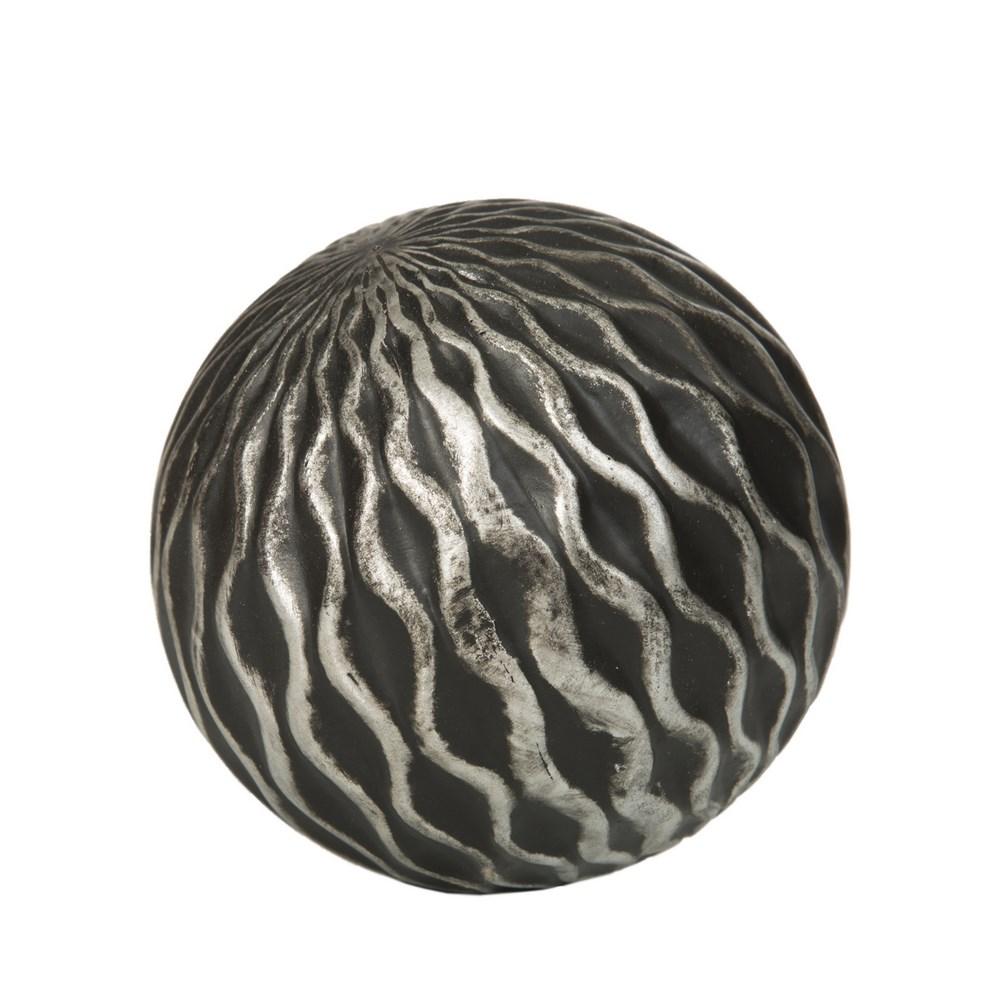 Dekorační koule CALVIN 11x11 cm Figurky a fotorámečky
