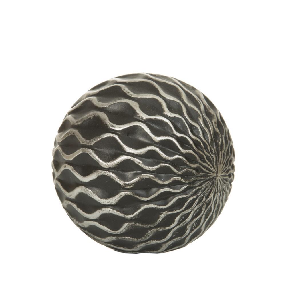 Dekorační koule CALVIN 10x10 cm Figurky a fotorámečky
