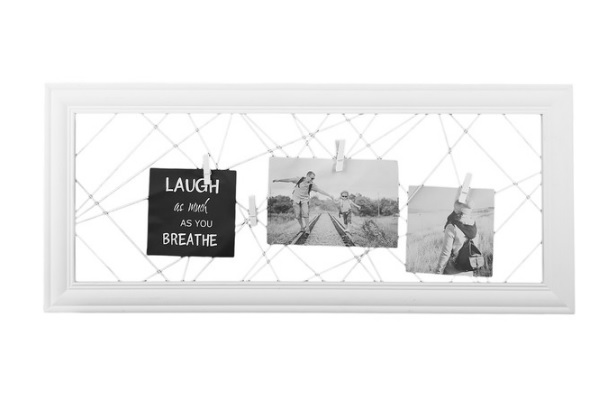 Dekorační fotorámeček LAUGH 26x2x60 cm Fotorámečky