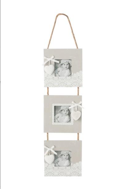 Dekorační fotorámeček MERLETO 60x14x2 cm Fotorámečky