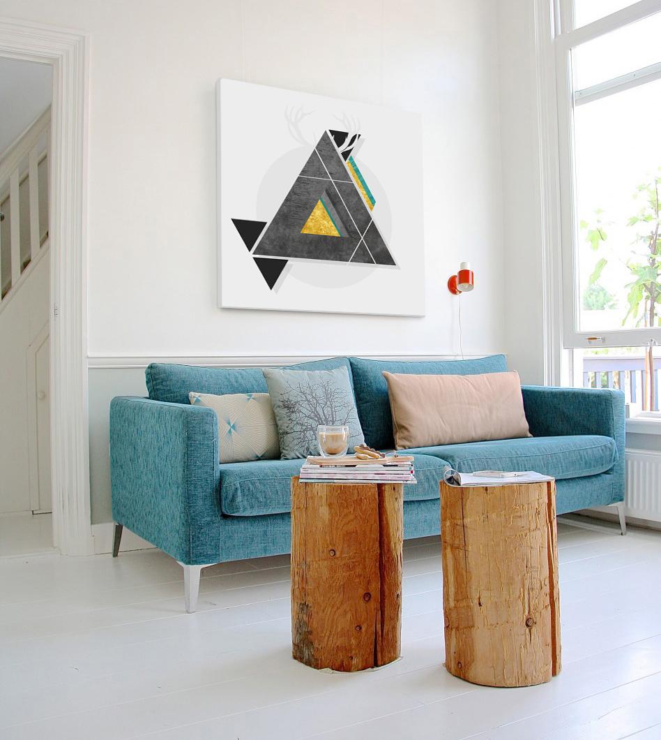 Levně Obraz na zeď Instant Abstraction / Dan Johannson DJ019E1