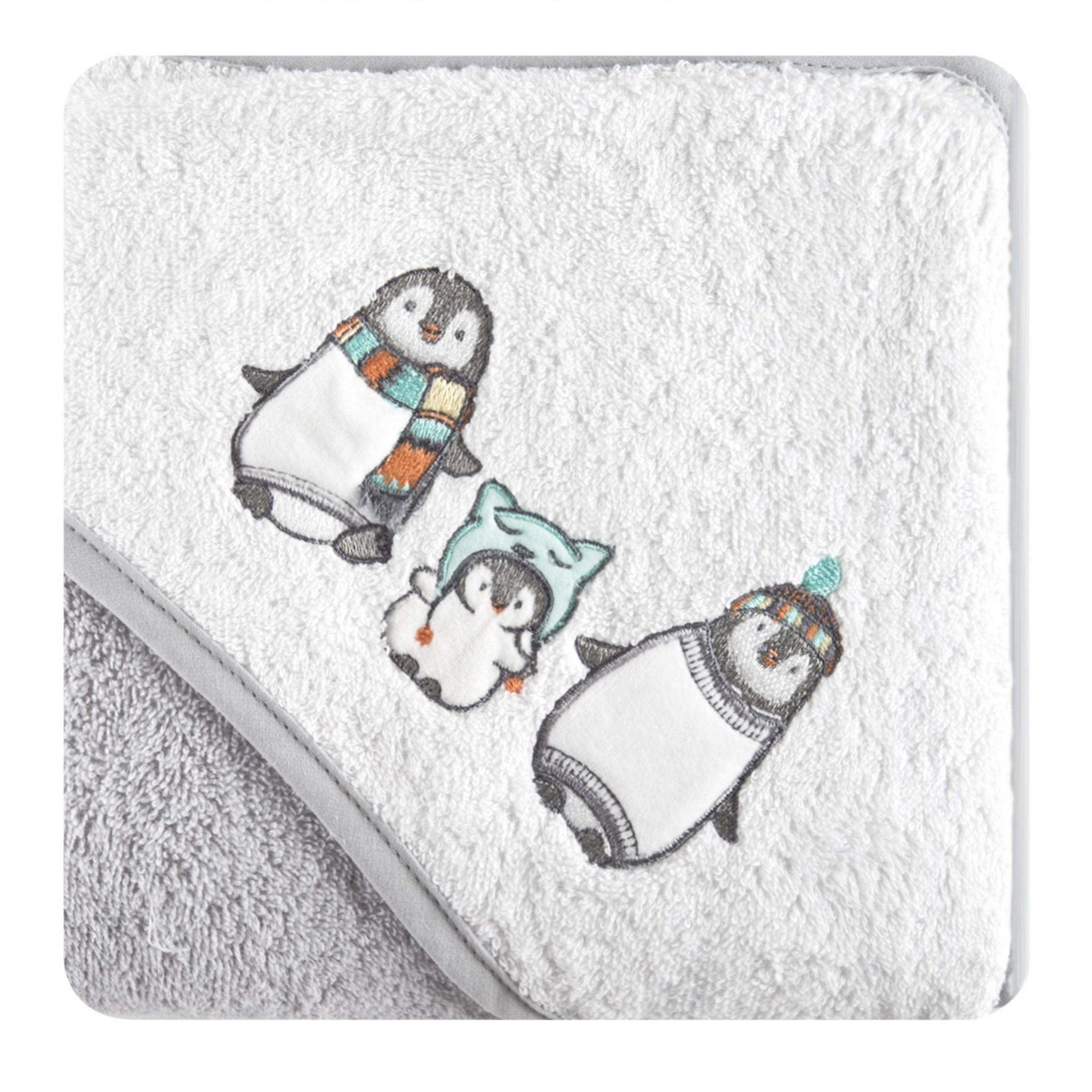 Dětská osuška PINGWIN 75x75 Ručníky a osušky
