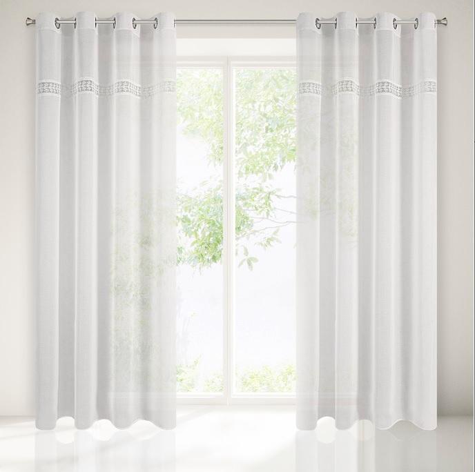 Luxusní záclona DORI 140x250 1 ks v balení