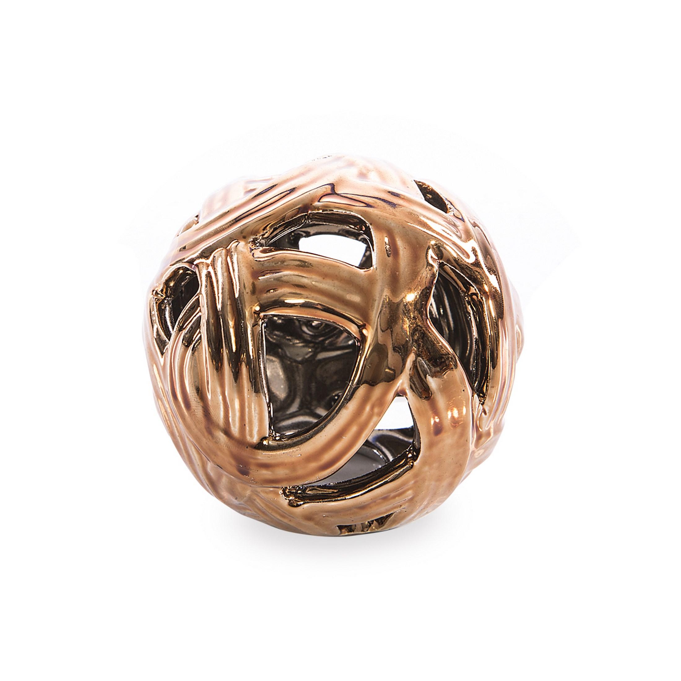Dekorační keramická koule CARAMEL Figurky a fotorámečky