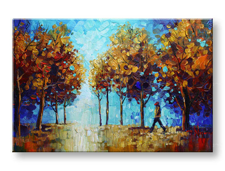 Ručně malovaný obraz 1 dílný ZEMĚ BI0005E1 malované obrazy BIANCA