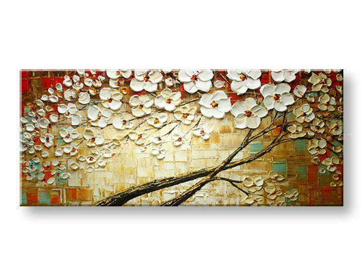 Ručně malovaný obraz 1 dílný STROM BI0018E1 malované obrazy BIANCA