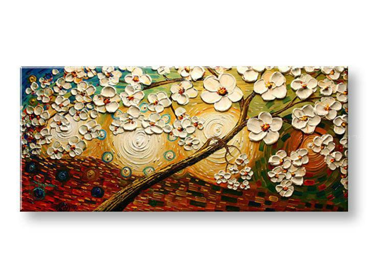 Ručně malovaný obraz 1 dílný STROM BI0025E1 malované obrazy BIANCA