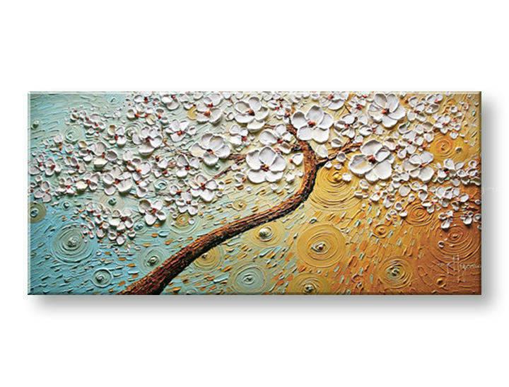 Ručně malovaný obraz 1 dílný STROM BI0038E1 malované obrazy BIANCA