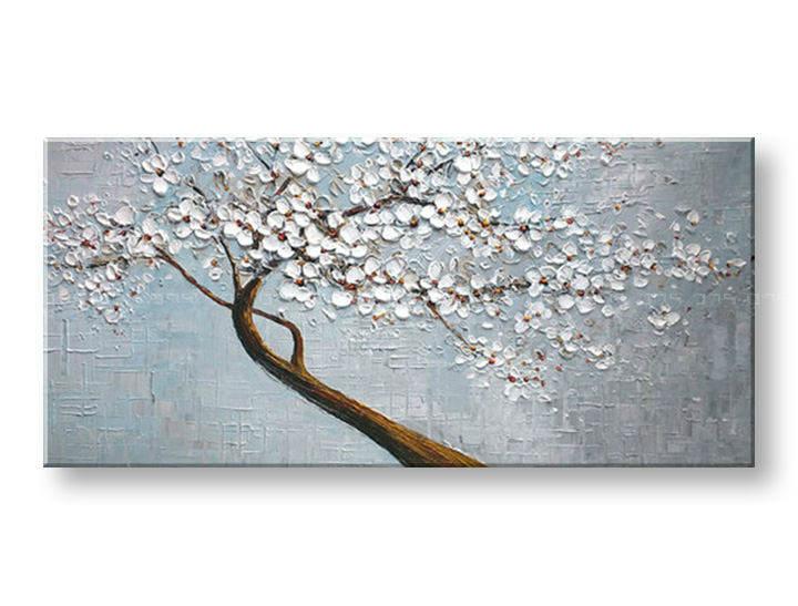 Ručně malovaný obraz 1 dílný STROM BI0040E1 malované obrazy BIANCA
