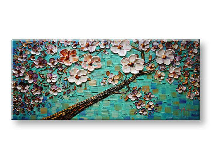 Ručně malovaný obraz 1 dílný STROM BI0042E1 malované obrazy BIANCA