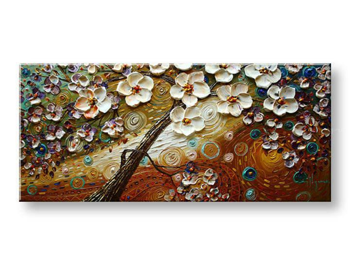 Ručně malovaný obraz 1 dílný STROM BI0045E1 malované obrazy BIANCA
