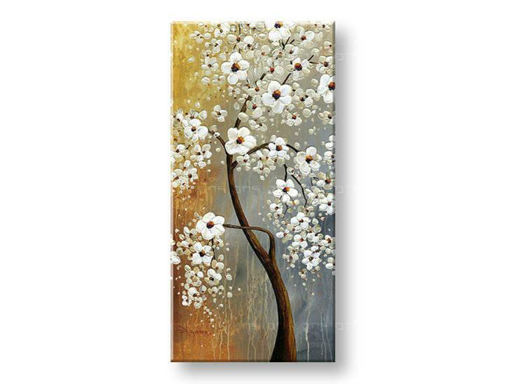 Ručně malovaný obraz 1 dílný STROM BI0069E1 malované obrazy BIANCA