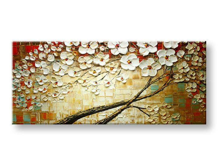 Ručně malovaný obraz 1 dílný STROM BI0070E1 malované obrazy BIANCA