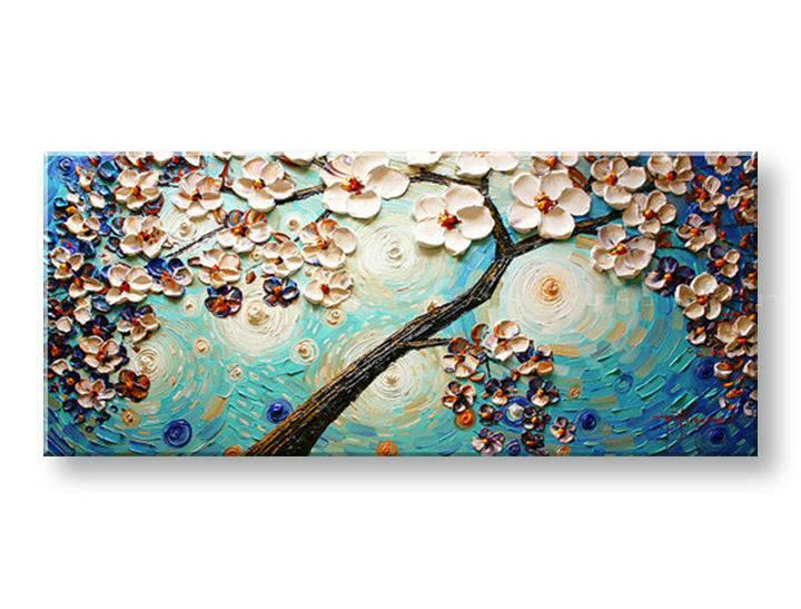 Ručně malovaný obraz 1 dílný STROM BI0077E1 malované obrazy BIANCA