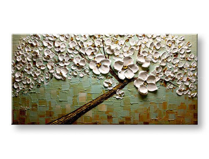 Ručně malovaný obraz 1 dílný STROM BI0078E1 malované obrazy BIANCA