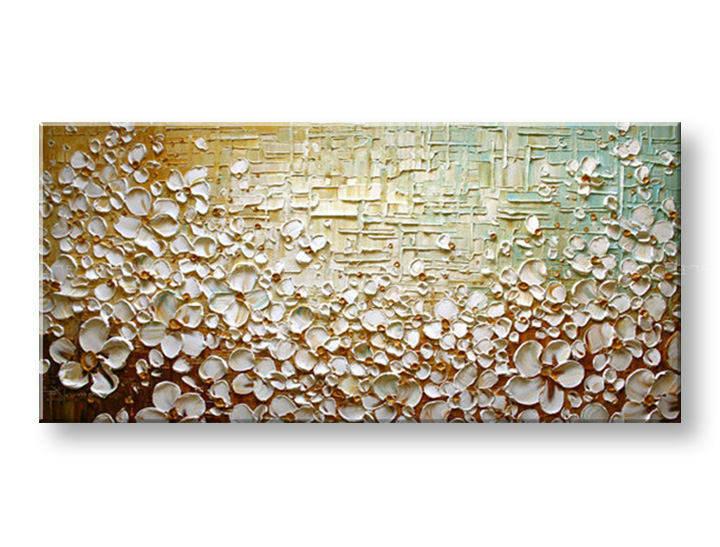 Ručně malovaný obraz 1 dílný KVĚTY BI0081E1 malované obrazy BIANCA