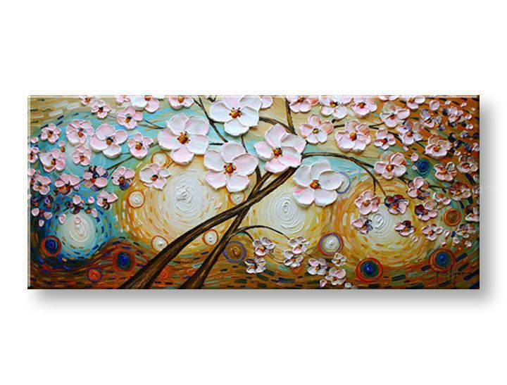 Ručně malovaný obraz 1 dílný STROM BI0099E1 malované obrazy BIANCA