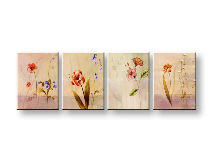 Ručně malovaný obraz na zeď ABSTRAKT FB023E4 malované obrazy FABIO
