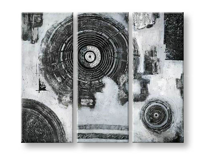 Ručně malovaný obraz na zeď ABSTRAKT FB026E3 malované obrazy FABIO