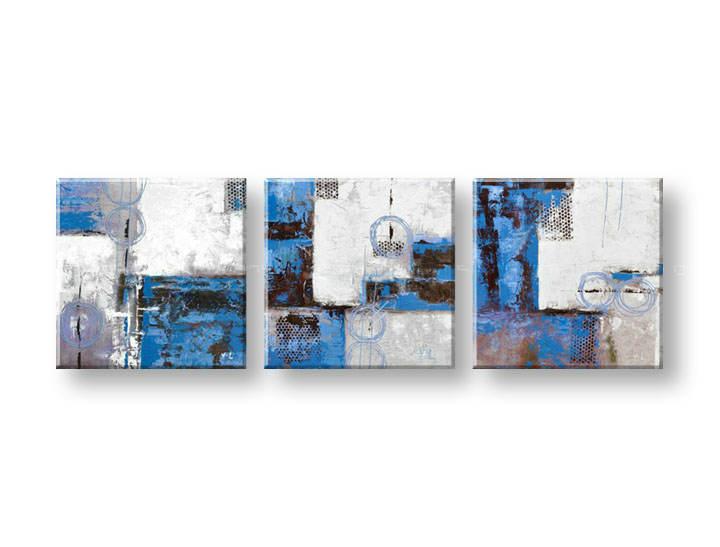 Ručně malovaný obraz na zeď KVĚTY FB038E3 malované obrazy FABIO