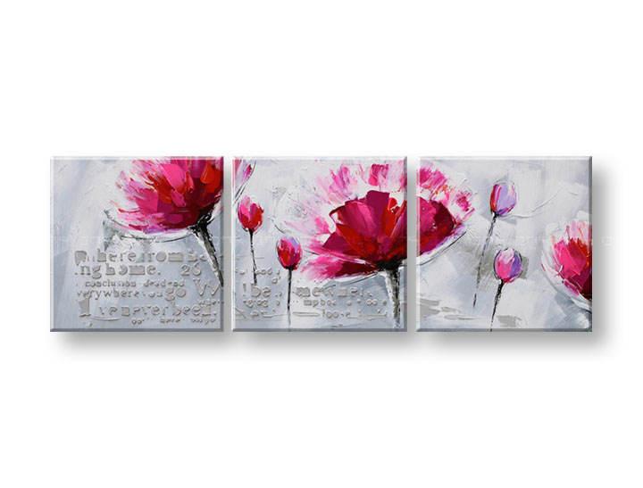 Ručně malovaný obraz na zeď ABSTRAKT FB055E3 malované obrazy FABIO