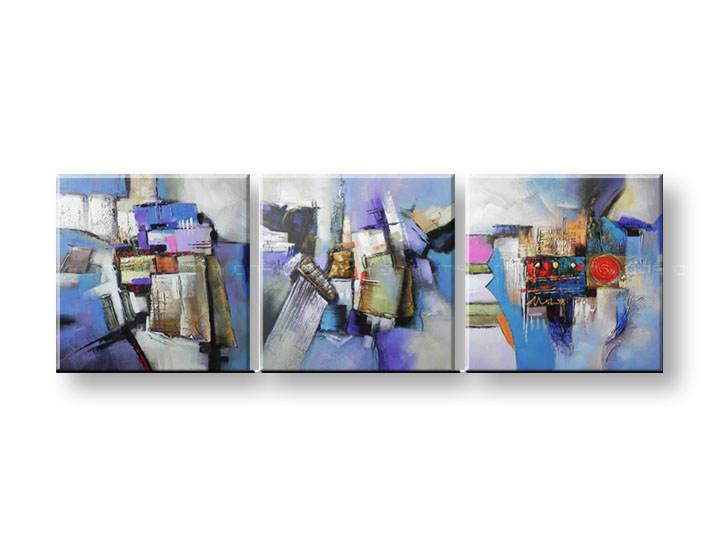 Ručně malovaný obraz na zeď KVĚTY FB056E3 malované obrazy FABIO