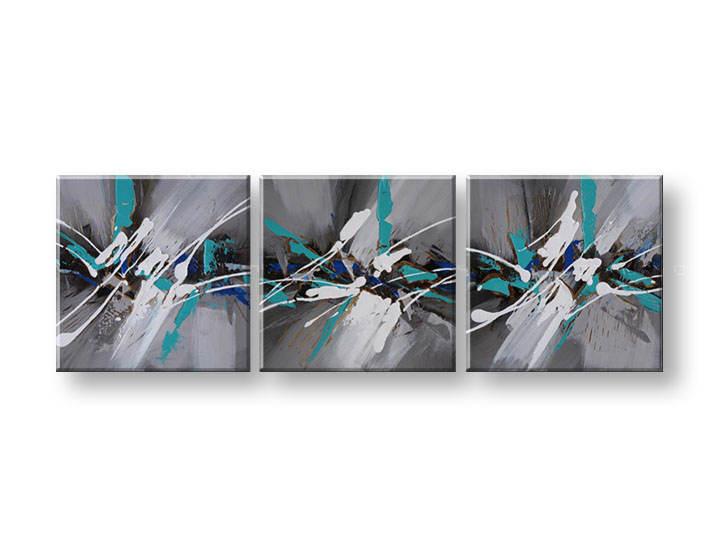 Ručně malovaný obraz na zeď KVĚTY FB073E3 malované obrazy FABIO