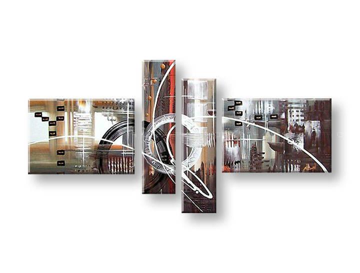 Ručně malovaný obraz na zeď ABSTRAKT FB126E4 malované obrazy FABIO