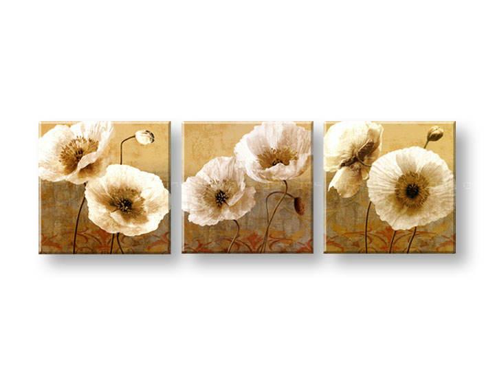 Ručně malovaný obraz na zeď KVĚTY FB137E3 malované obrazy FABIO