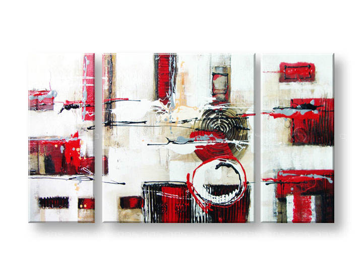 Ručně malovaný obraz na zeď ABSTRAKT FB148E3 malované obrazy FABIO