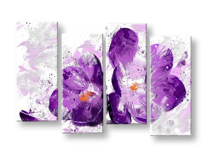 Ručně malovaný obraz na zeď KVĚTY FB158E4 malované obrazy FABIO