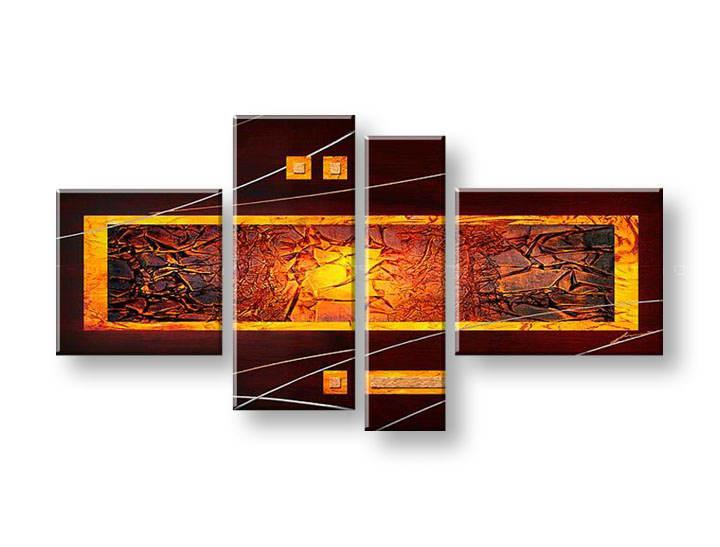 Ručně malovaný obraz na zeď ABSTRAKT FB185E4 malované obrazy FABIO
