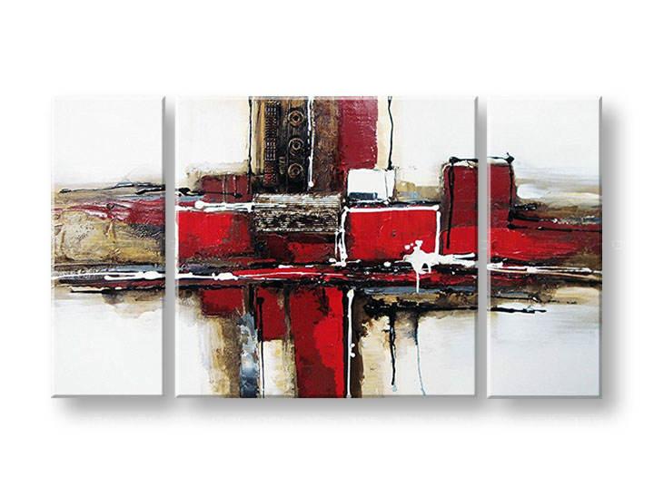 Ručně malovaný obraz na zeď KVĚTY FB191E3 malované obrazy FABIO