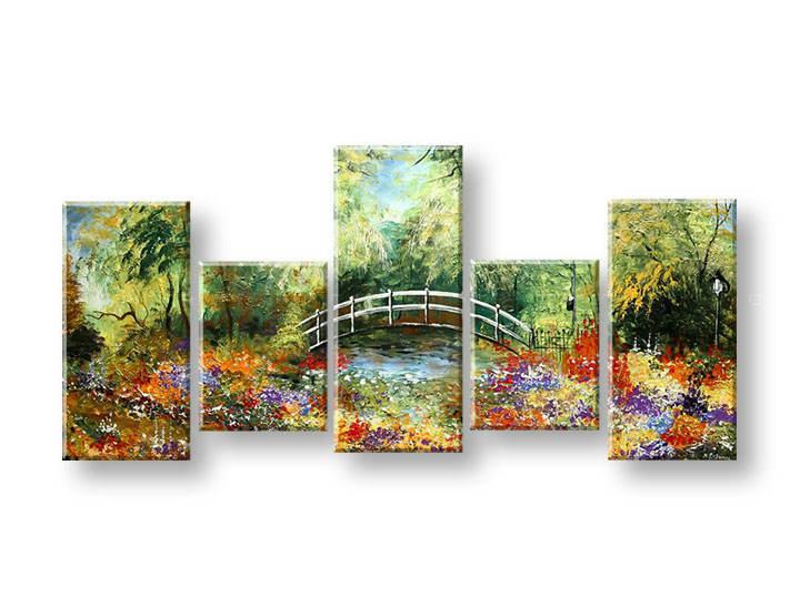 Ručně malovaný obraz na zeď STROMY FB262E5 malované obrazy FABIO
