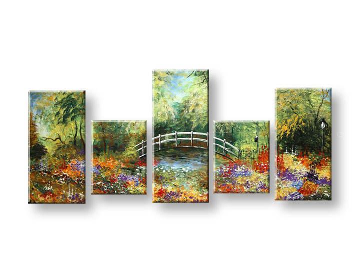 Ručně malovaný obraz na zeď STROMY FB286E5 malované obrazy FABIO
