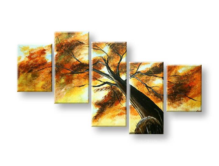 Ručně malovaný obraz na zeď STROMY FB295E5 malované obrazy FABIO