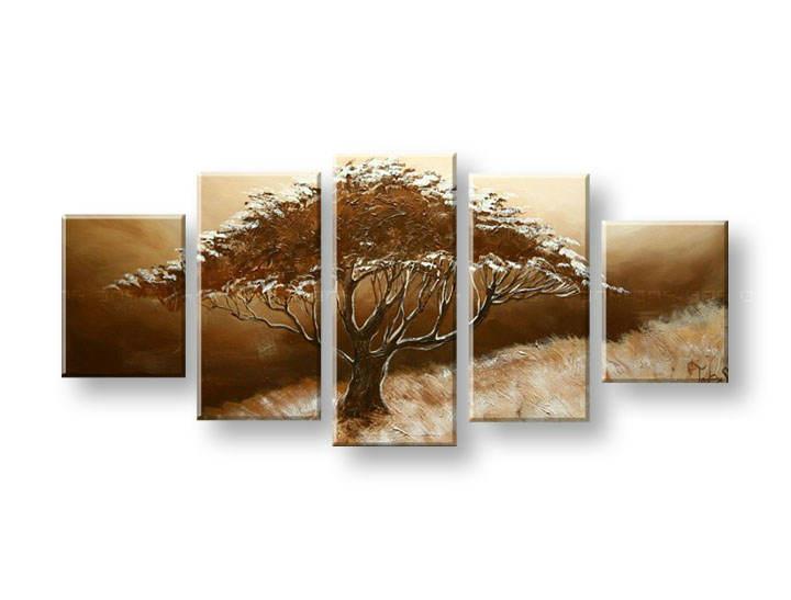 Ručně malovaný obraz na zeď STROMY FB305E5 malované obrazy FABIO