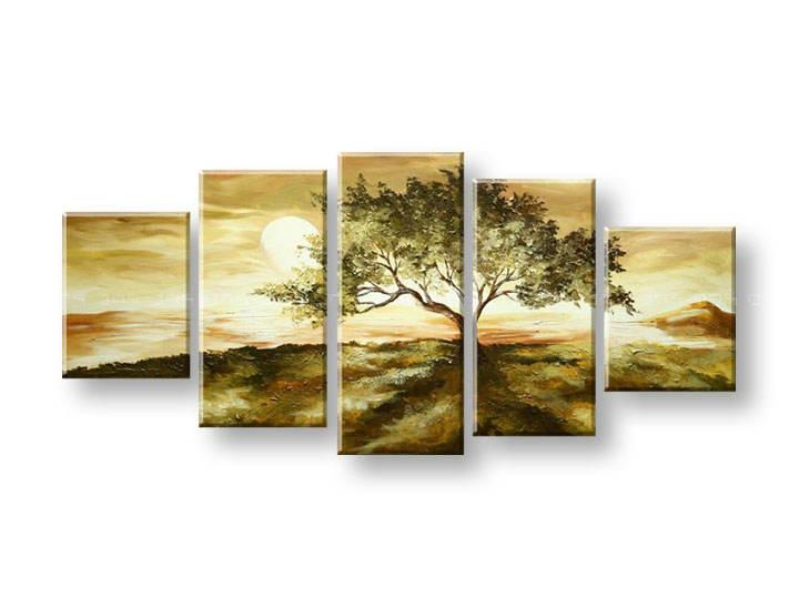 Ručně malovaný obraz na zeď STROMY FB322E5 malované obrazy FABIO