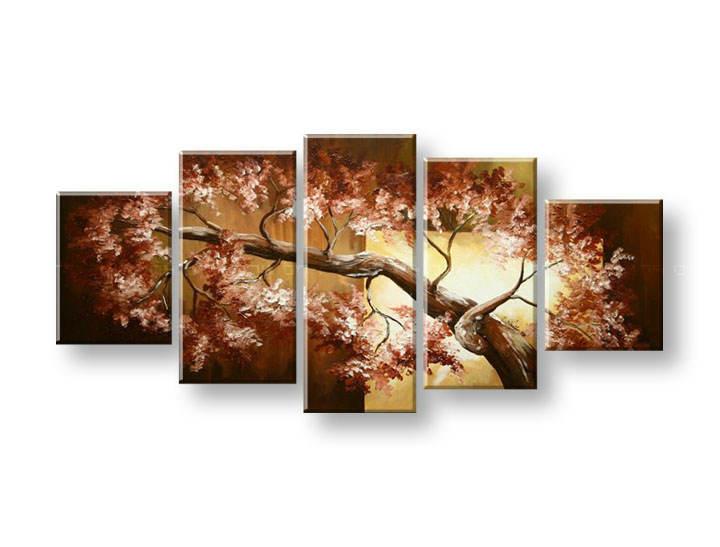 Ručně malovaný obraz na zeď STROMY FB376E5 malované obrazy FABIO