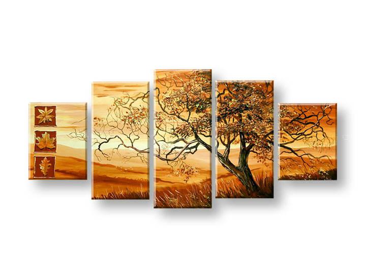 Ručně malovaný obraz na zeď STROMY FB393E5 malované obrazy FABIO