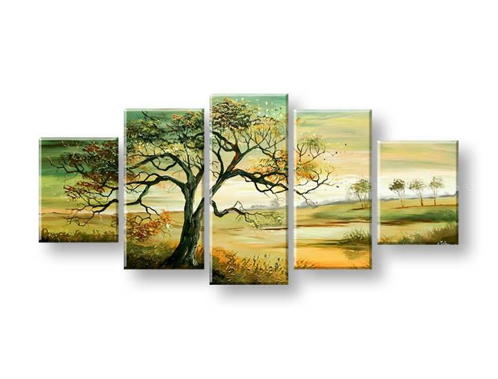 Ručně malovaný obraz na zeď STROMY FB397E5 malované obrazy FABIO
