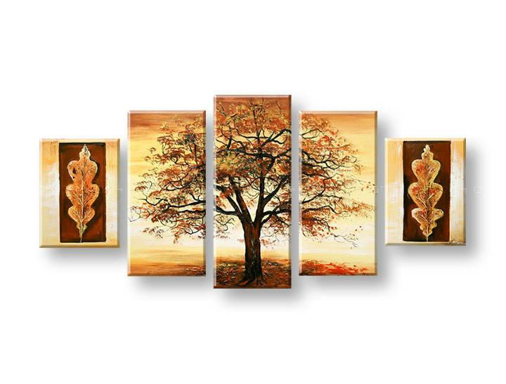 Ručně malovaný obraz na zeď STROMY FB450E5 malované obrazy FABIO