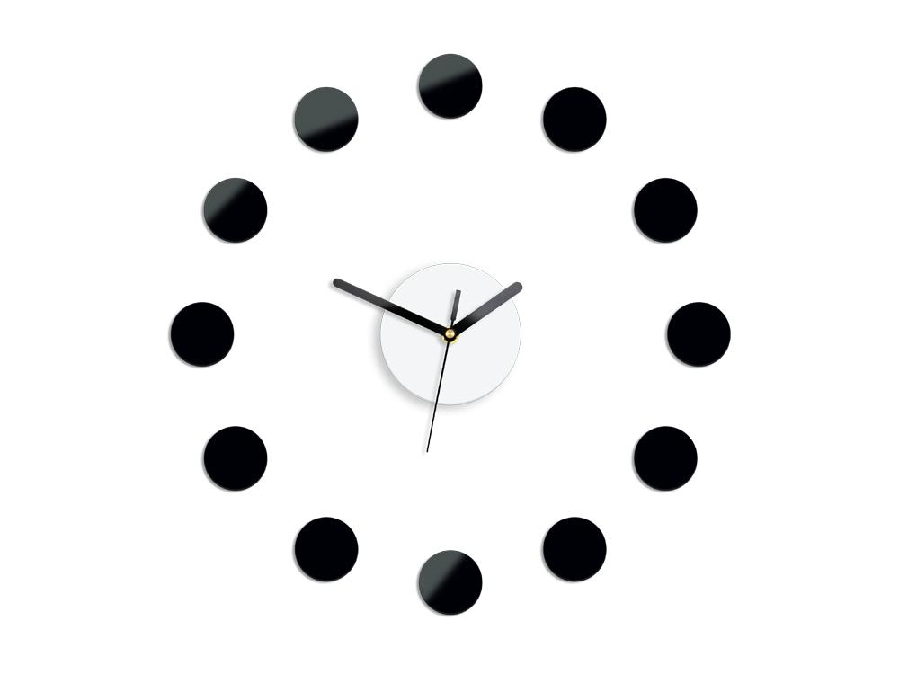 Moderní nástěnné hodiny RIO NH009 nalepovací hodiny na stěnu