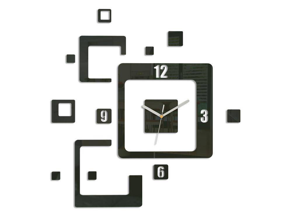 Moderní nástěnné hodiny TRIO NH013 nalepovací hodiny na stěnu
