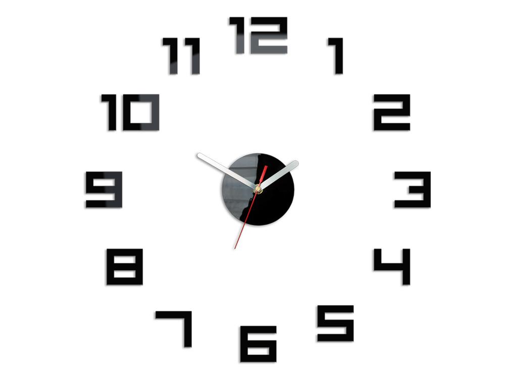 Moderní nástěnné hodiny DIGIT NH029 nalepovací hodiny na stěnu