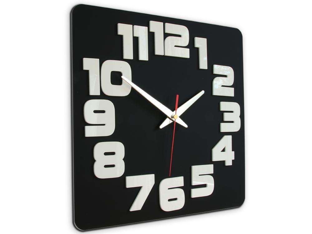 Moderní nástěnné hodiny LOGIC NH047 nalepovací hodiny na stěnu