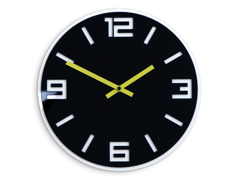 Moderní nástěnné hodiny DIXON HMCNH058 nalepovací hodiny na stěnu