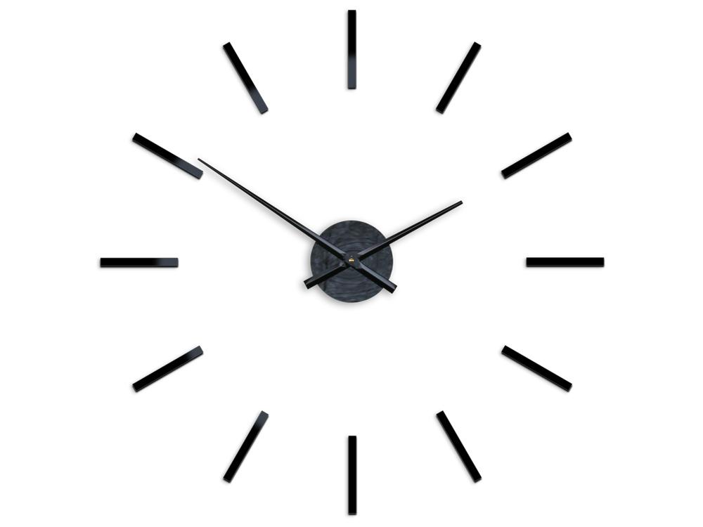 Moderní nástěnné hodiny SOLO HMCNH066 nalepovací hodiny na stěnu