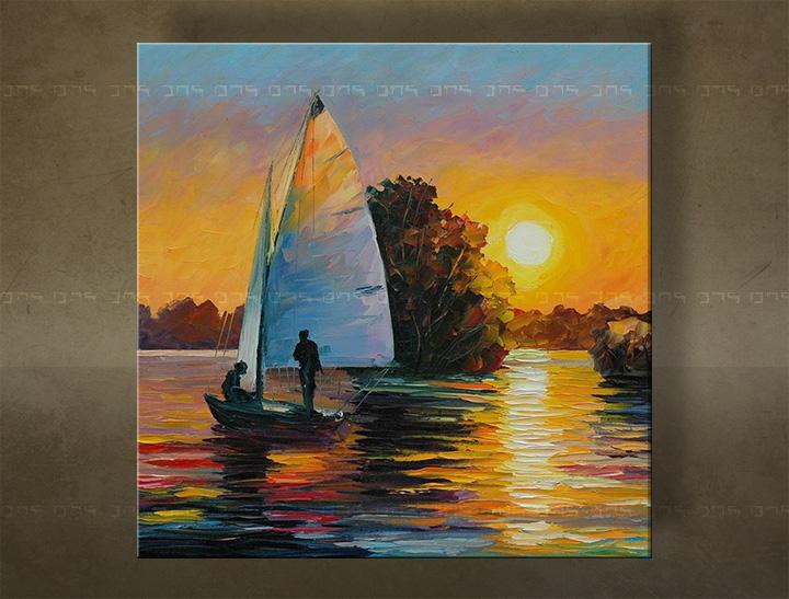 Ručně malovaný obraz na zeď MORE FB116E1 malované obrazy FABIO